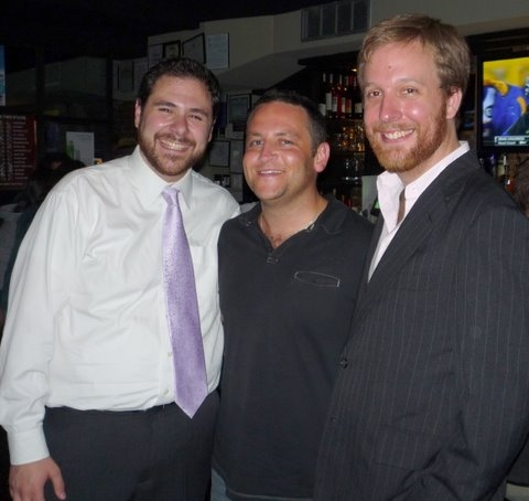 Jeremy Blocker, Norman Lasca and Geordie Broadwater
