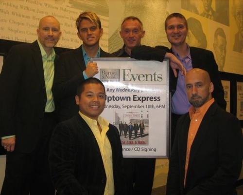 Photo Coverage: Uptown Express Performs at Lincoln Center Barnes & Noble