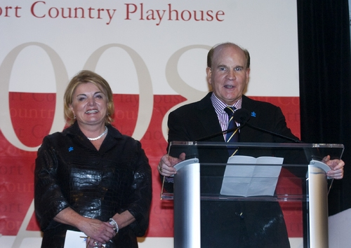 Suzanne and Bob Wright were honored for their many contributions to Westport Country Playhouse on Monday, September 15.