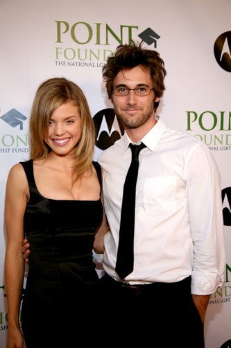 AnnaLynne McCord and Ryan Eggold