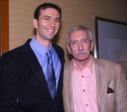 Neil Wechsler and Edward Albee