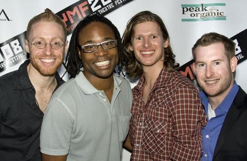 Matt Gould, Billy Porter, Lucas Steele and Driscoll Otto   Photo