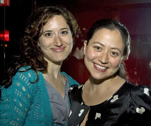 Christie Evangelisto and Marissa Kamin