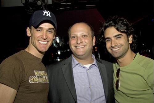 Travis Nesbit, Isaac Robert Hurwitz and Mauricio Perez