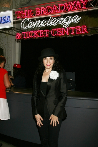 Photo Flash: Bebe Neuwirth Performs at the Broadway Concierge and Ticket Center Opening