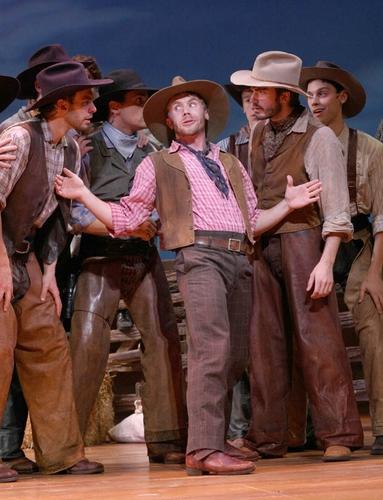 l-r: Dan Bogart, J. David Anderson, Brian Sears (Will Parker), Ryan Worsing, Drew Fra Photo