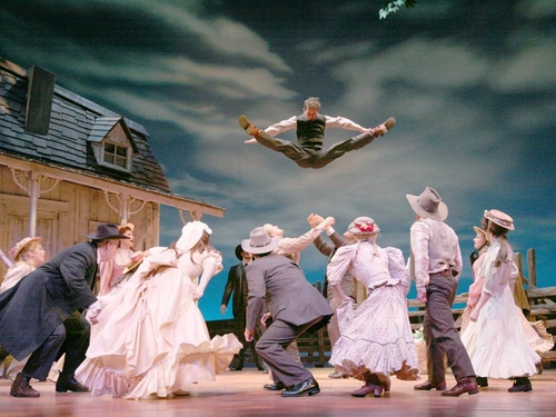Photos: 'Oklahoma!' at Paper Mill Opens 9/21 with O'Malley & Sikora