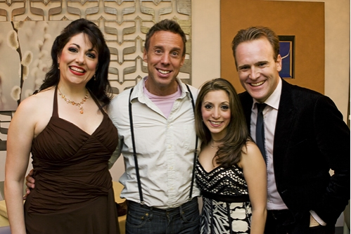 Gina Kreiezmar, Michael West, Christina Bianco and Jared Bradshaw at 'Forbidden Broadway Goes to Rehab' Has A Joyous Opening Night!
