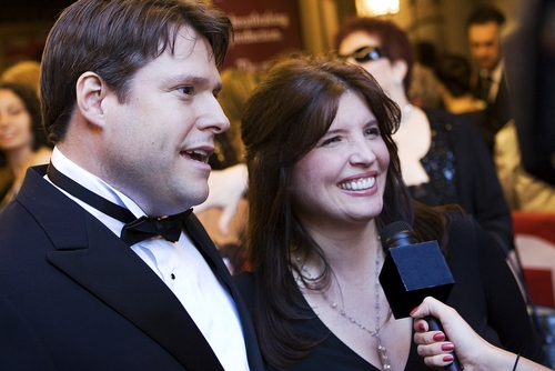 Ron Sharpe and Barbra Russell Photo