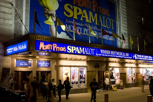 Photo Coverage: Clay Aiken Returns to 'Monty Python's Spamalot'