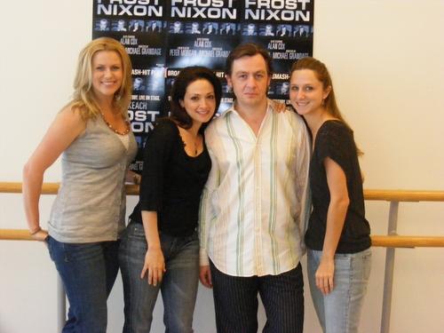 Tamara Lovatt-Smith, Roxanna Hope, Alan Cox and Meghan Andrews