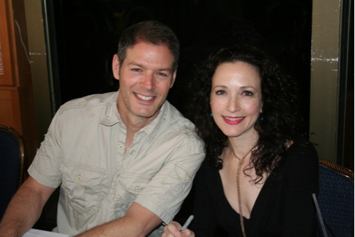Kevin Spirtas and Bebe Neuwirth