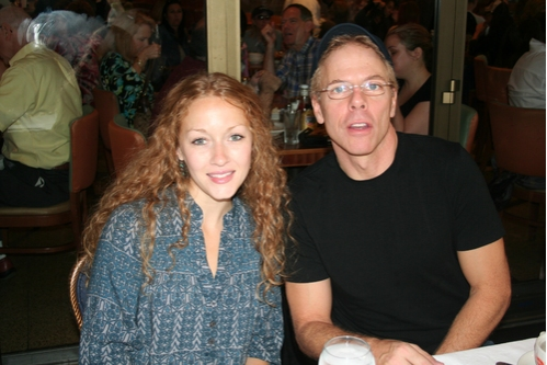 Jennifer Ferrin (The 39 Steps) and Greg Germann