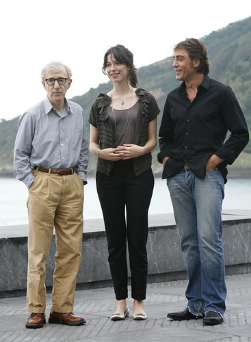 Woody Allen, Rebecca Hall and Javier Bardem