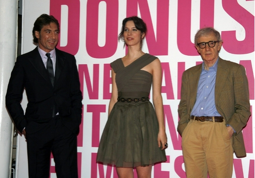 Javier Bardem, Rebecca Hall and Woody Allen