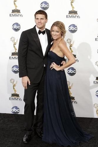 David Boreanaz and Lauren Conrad