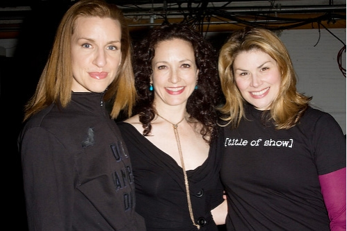 Photo Coverage: Bebe Neuwirth Visits [title of show]