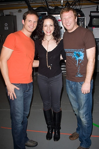 Jeff Bowen, Bebe Neuwirth, and Hunter Bell