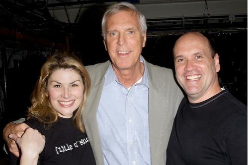 Heidi Blickenstaff, Ken Billington, and Larry Pressgrove