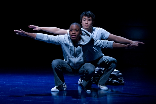 Jon Michael Hill and Christopher Larkin