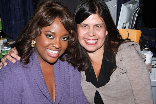 Sherri Shepherd and Dayle Reyefel