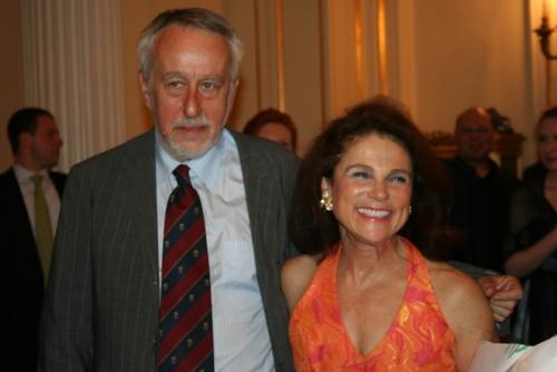Consul General of Poland and Tovah Feldshuh