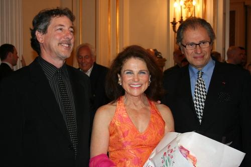 Michael Parva, Tovah Feldshuh, and Roman Haller