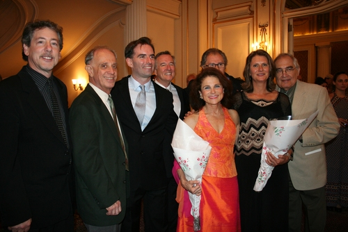 Michael Parva (director), Tom Ryan, John Stanisci, Dan Gordon (Playwright), Roman Haller, Tovah Feldshuh, Jeannie Opdyke Smith, and Stan Raiff