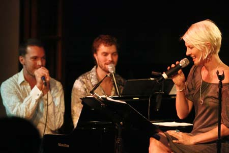 Tom Lowe, Lance Horne and Jen Malenke