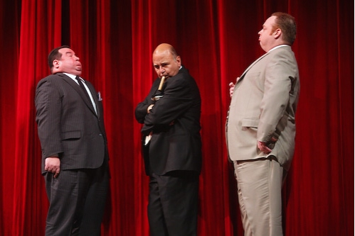 Contestants Bob Greenberg, Dominic Defilippis, George Matthews pose-off Photo