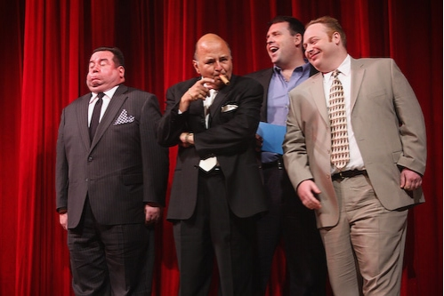 Bob Greenberg, Dominic Defilippis, Hugh Hysell and George Matthews