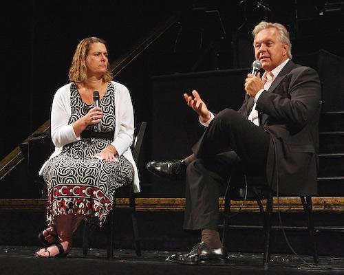 Adrienne Onofri and Walter Bobbie