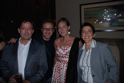 Peter Hanson, Christian Bottorff, Amanda Mitchell and Mimi Intagliata