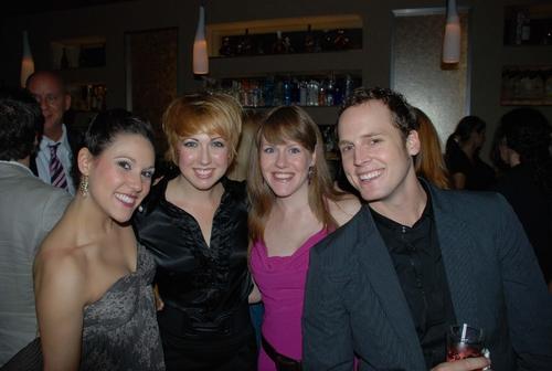 Elizabeth Stacey, Kiira Schmidt, Danielle Jordan and Kyle Vaughn