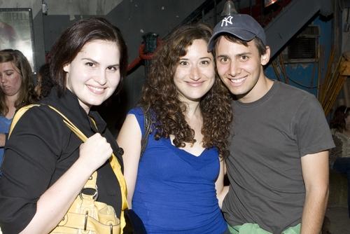 Susanne Layton, Christie Evangelisto and Benj Pasek