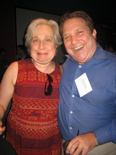 Nancy Gibbs and Roger Gindi