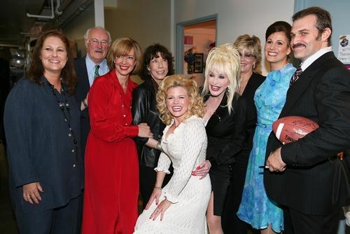 Patricia Resnick, Dabney Coleman, Allison Janney, Lily Tomlin, Megan Hilty, Dolly Parton, Jane Fonda, Stephanie J. Block and Marc Kudisch