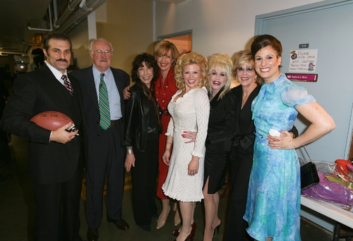 Marc Kudisch, Dabney Coleman, Lily Tomlin;Allison Janney, Megan Hilty, Dolly Parton, Jane Fonda and Stephanie J. Block