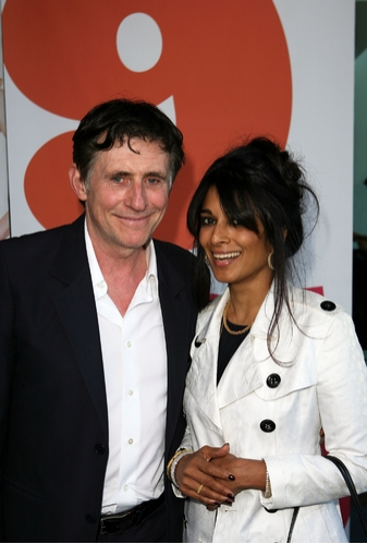 Gabriel Byrne and Anna George