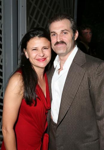 Tracey Ullman and Mark Kudisch