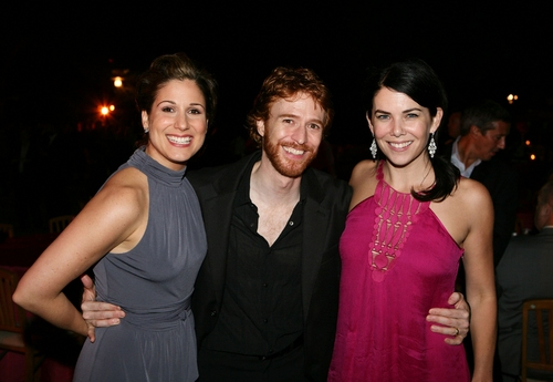 Stephanie J. Block, Paul Castree with actress Lauren Graham