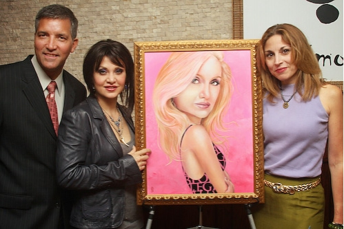 Photo Coverage: Orfeh Has Her Portrait Unveiled at Tony's Dinapoli