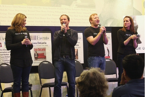 Photo Coverage: [title of show] Sings and Signs at Barnes & Noble