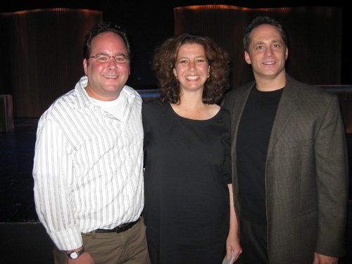 Composer Kyle Rosen & Co-Lyricists-Librettists Felicia Needleman and Laurence Holzman
