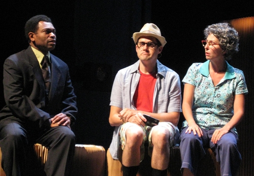 J.D. Webster, Ron DeStefano and Vanessa Lemonides