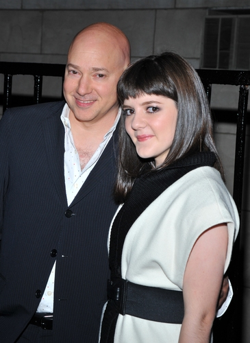 Evan Handler and Madeleine Martin