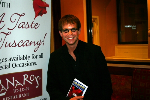 """Matt Wilson, actor from WPPAC's production of """"How to Succeed in Business without Rea Photo"""