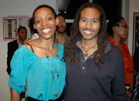 LaTonia Phipps and America Idol Finalist Anwar Robinson