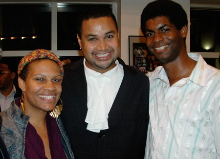 Director Rajendra Ramoon Maharaj joins Radha Blank and Niegel Smith from The Public Theater where the original production of The Colored Museum transfered