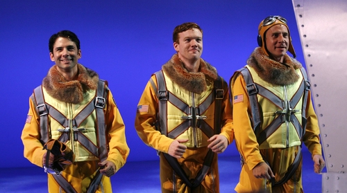 Jason Reiff, Richard Barth and Danny Rothman at 'ACE - The New Musical Adventure' Final Performance